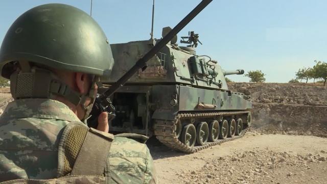 Türk Silahlı Kuvvetleri, milli silah ve mühimmatla Haftanin'de