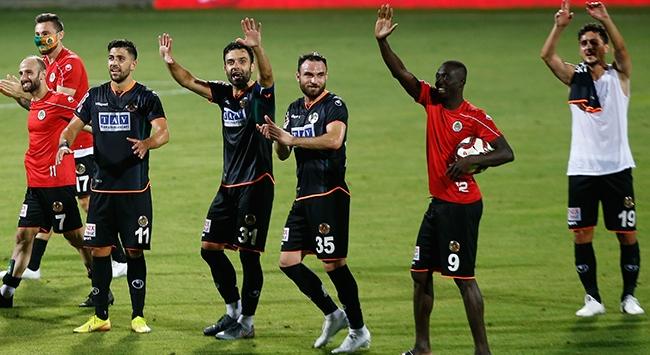 Aytemiz Alanyaspor tarihinde ilk kez kupa finalinde