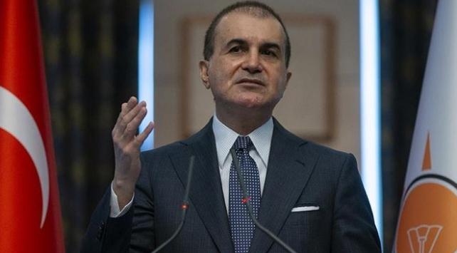 AK Parti Sözcüsü Çelik: Vekilimiz ve ailesini hedef alan ahlak dışı yazıyı kınıyoruz