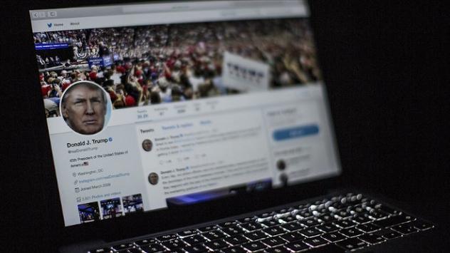Twitterdan Trumpın paylaşımına manipüle edilmiş medya etiketi