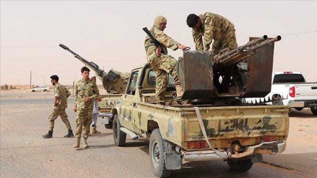 Libya ordusu asayiş operasyonlarına devam ediyor