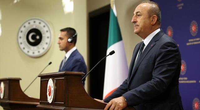Bakan Çavuşoğlu: İtalya ile Libyada kalıcı barış için çalışmaya devam edeceğiz