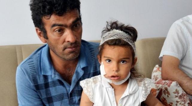 Kurt saldırısında yaralanan Eylül taburcu edildi