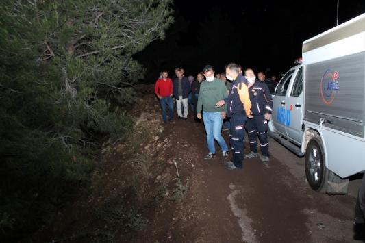 Kayıp olarak aranan kişinin cesedi uçurumda bulundu