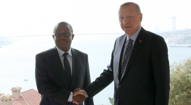 Cumhurbaşkanı Erdoğan, Gine Bissau Cumhurbaşkanı Embalo ile bir araya gelecek