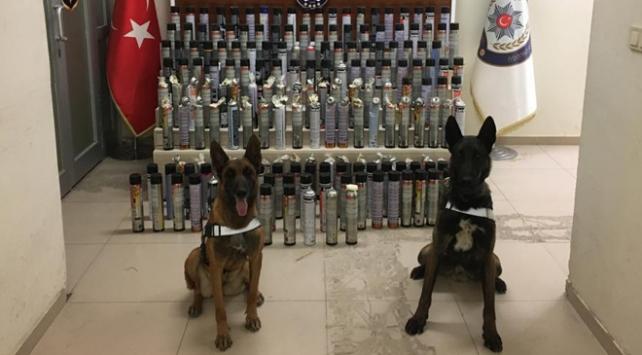Kargo aktarım merkezine uyuşturucu operasyonu