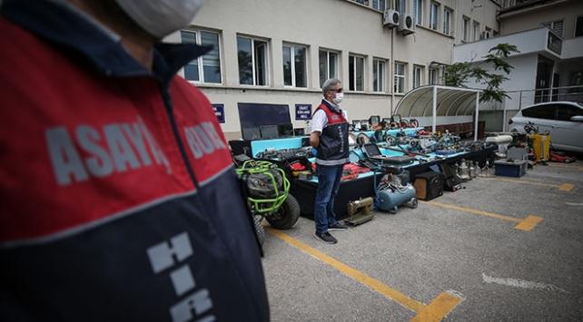 Bursa dev hırsızlık operasyonu: 20 gözaltı