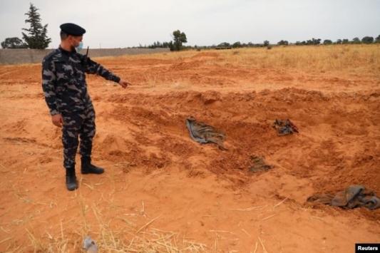 Libya ordusu 5 Hazirandan bu yana 190 ceset buldu