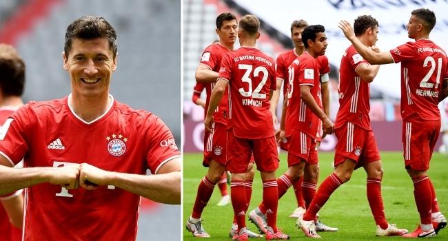 Bayern Münihi şampiyonluk da durdurmadı