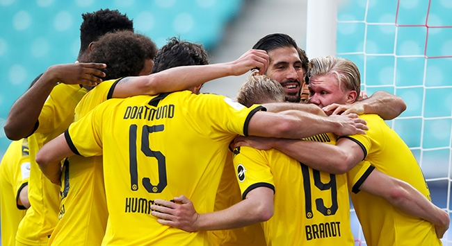 Borussia Dortmund ikinciliği garantiledi