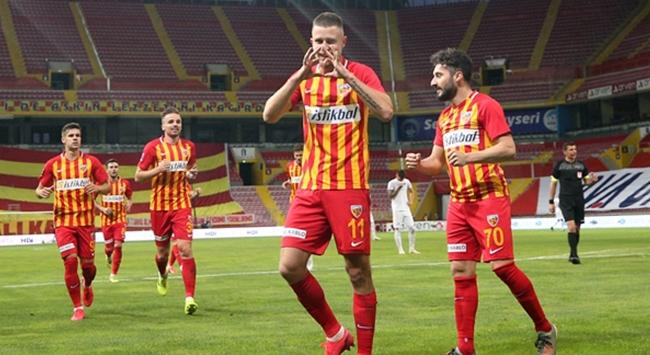 Hes Kablo Kayserispordan kritik galibiyet
