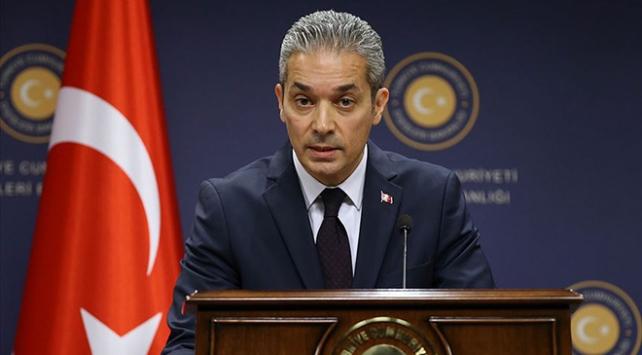 Türkiyeden Pençe-Kartal ve Pençe-Kaplan harekatlarını eleştiren ABDli kuruluşa tepki