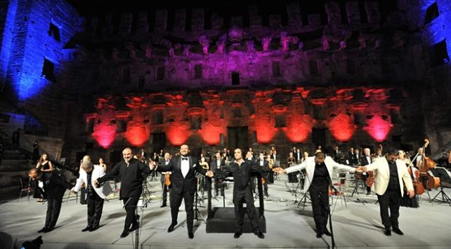 Antalyada Yeniden Keşfet etkinliği: 7 tenor ilk kez aynı sahnede buluştu