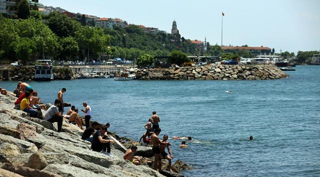 İstanbullular güzel havanın tadını çıkardı
