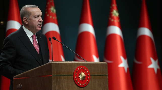 Cumhurbaşkanı Erdoğan: Göç yükünü tek başımıza omuzlamak zorunda bırakıldık