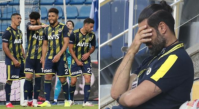 Fenerbahçe Kasımpaşada kayıp