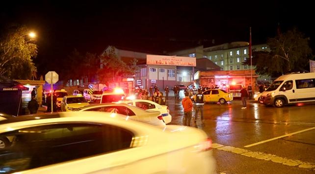 Erzurumda hastane önünde silahlı kavga: 1 ölü, 6 yaralı