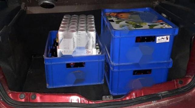 Otomobilde içki satışına 56 bin lira ceza