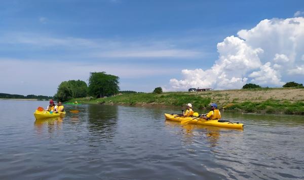 Meriç Nehrinde kano turu gerçekleştirildi