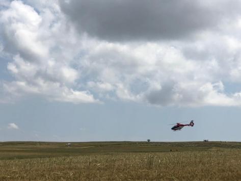 Beypazarında test uçuşu yapan Hürkuş kaza geçirdi