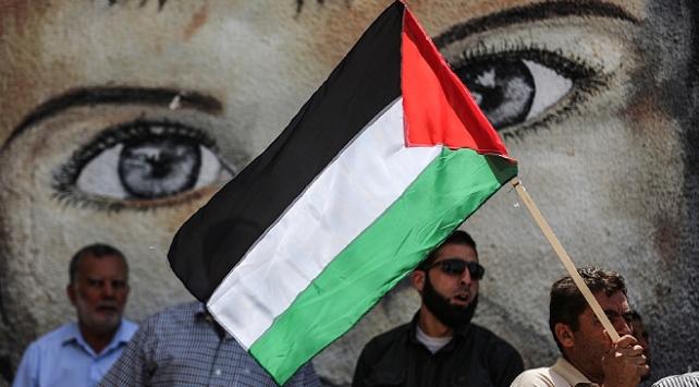 İsrailin ilhak planı Gazzede protesto edildi