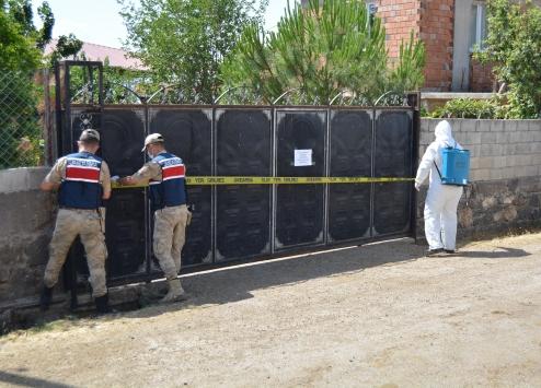 Gaziantepte 2 mahallede 17 ev karantinaya alındı