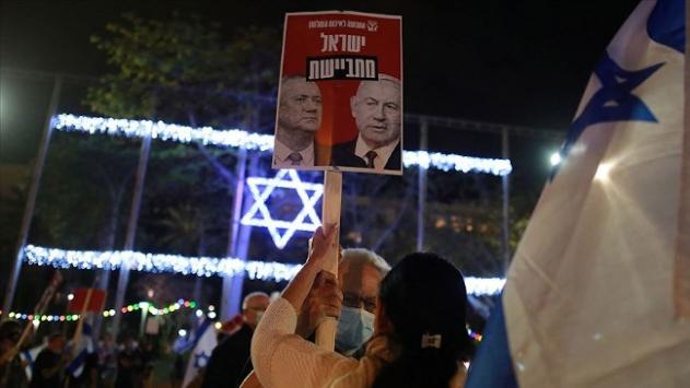 Netanyahudan Gantza: Ya ilhaka destek ver ya da seçime gidelim