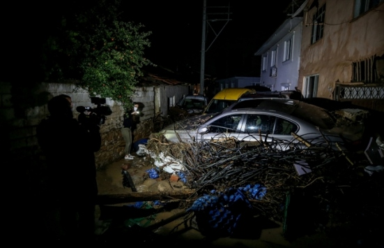 AFAD, selde kaybolan vatandaşı 200 personeliyle arıyor