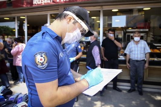 Ankarada maske denetimi yapıldı