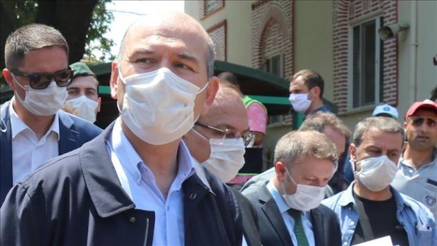 Bakan Soylu: Bursadaki selde kaybolan Deryanın aranmasına devam ediliyor
