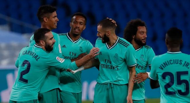 La Liganın yeni lideri Real Madrid