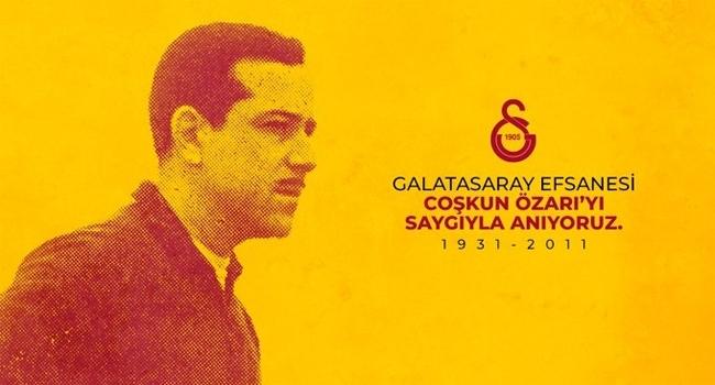 Galatasaray Coşkun Özarıyı andı