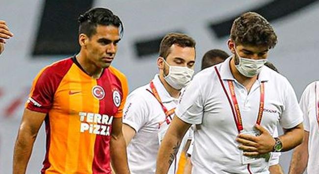 Galatasaraylı futbolcu Falcao sakatlandı