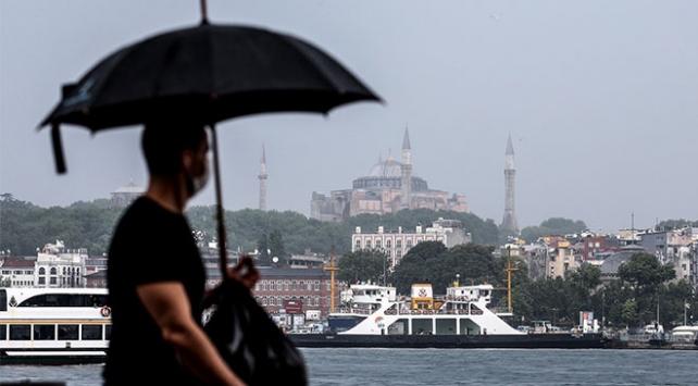 İstanbula yarın için sarı uyarı