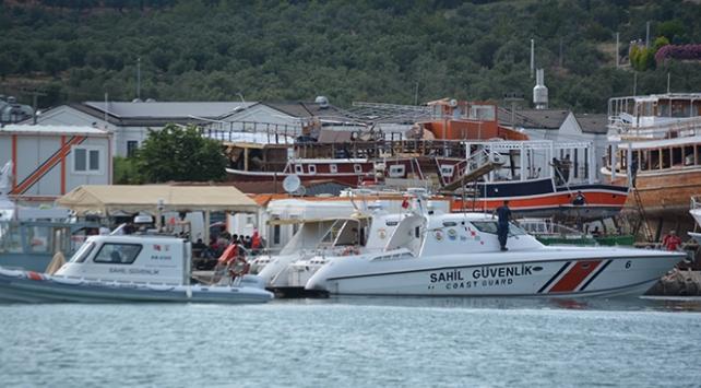Balıkesir açıklarında 35 sığınmacı kurtarıldı
