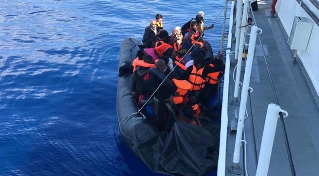 Çanakkale açıklarında 145 sığınmacı kurtarıldı