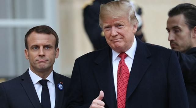 Trump ve Macron Libyada ateşkes çağrısı yaptı