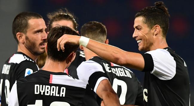 Juventus deplasmanını kayıpsız geçti