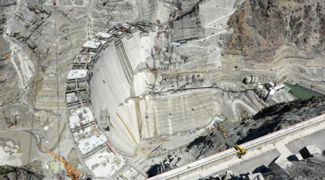 Yusufeli Barajının yüzde 80i tamamlandı
