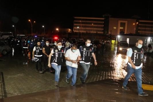Çankırı merkezli suç örgütü operasyonunda 21 şüpheli yakalandı