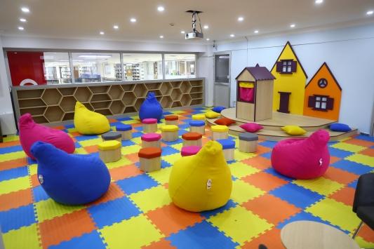 Bağcılarda çocuk kütüphanesi açılacak