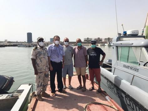 Eritrede alıkonulan Türk denizciler güvenli sularda