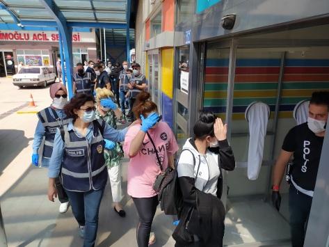 Konya merkezli fuhuş operasyonunda 11 şüpheli yakalandı