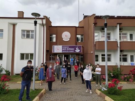 Gençlik Kampı öğrencilerine temel afet bilinci eğitimi