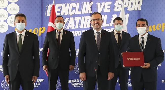 Gençlik ve Spor Bakanlığından Sinopa yatırım