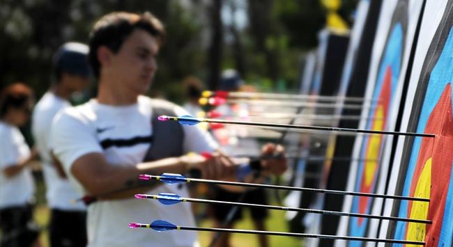 Milli okçular olimpiyat aşkıyla yeniden yay gerdi