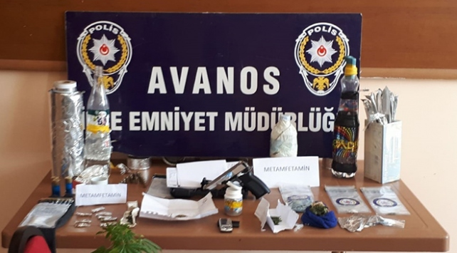 Nevşehirde uyuşturucu operasyonu: 4 gözaltı