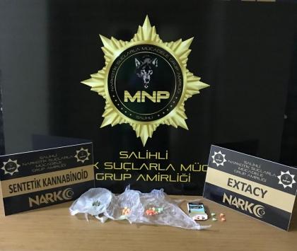 Manisada uyuşturucu operasyonunda 2 kişi tutuklandı