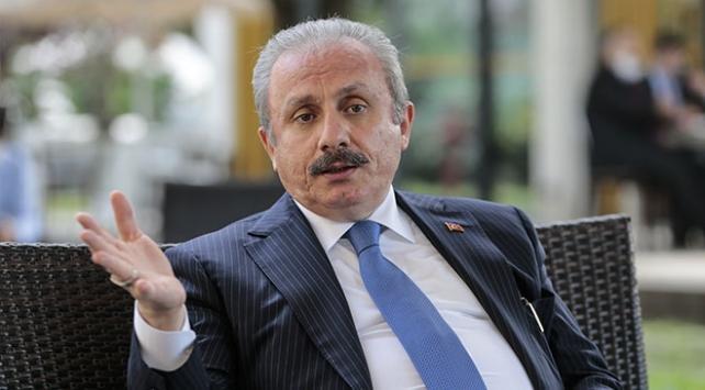 TBMM Başkanı Şentoptan Macrona Libya tepkisi