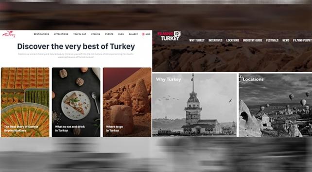 Kültür ve Turizm Bakanlığının iki internet sitesi ödüle layık görüldü